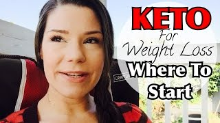 KETO for weight loss | How I started my journey (Basics)