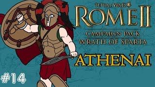 Total War: Rome 2 - Wrath of Sparta - Athenai (Athens) Campaign - Siege of Korinthos!