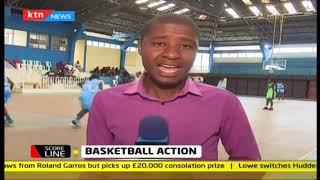 Scoreline: Basketball action