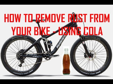 how to remove rust from your bike using cola youtube. Black Bedroom Furniture Sets. Home Design Ideas
