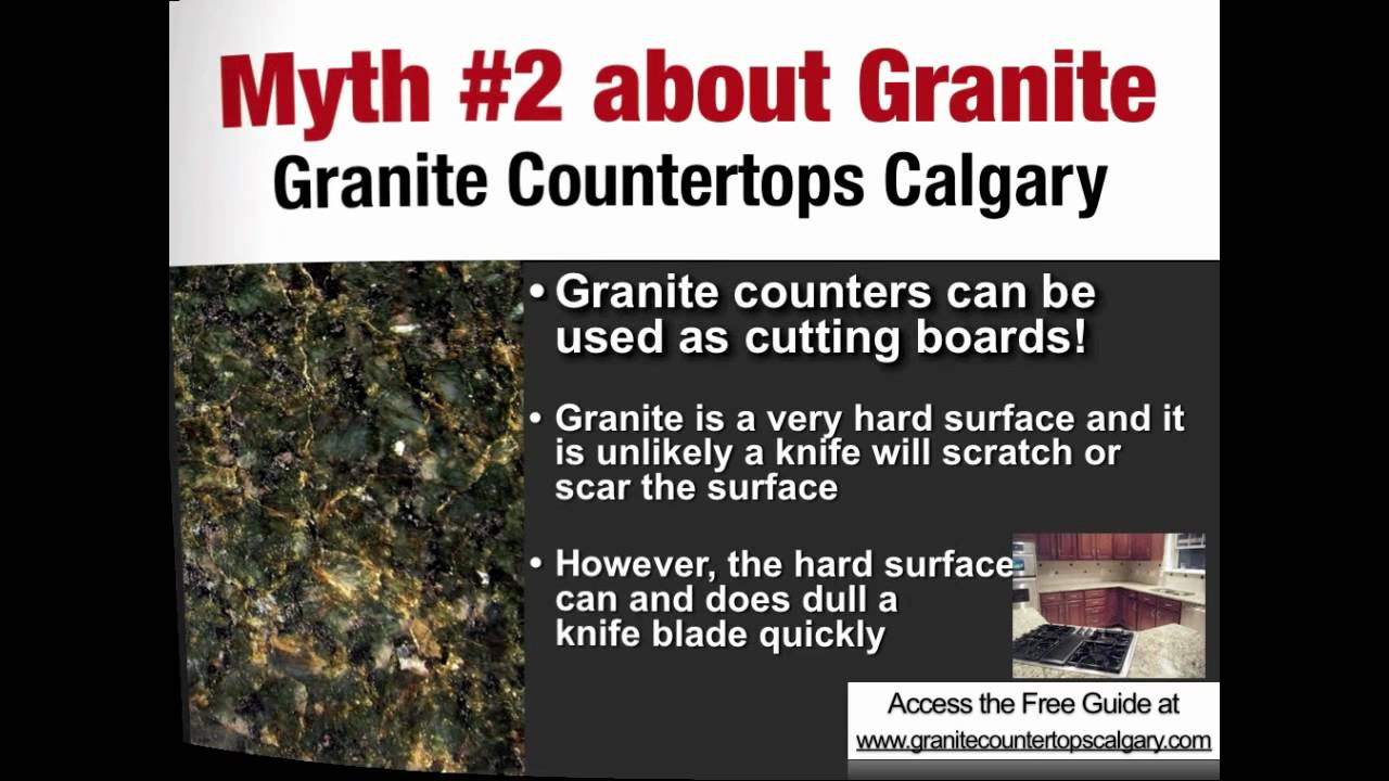 Granite Countertops Calgary   Can You Use Granite As A Cutting Board?