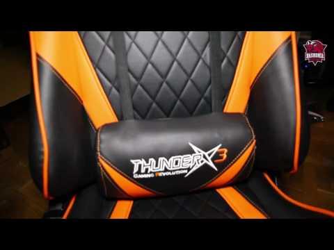 TGC15 Professional Gaming Chairs | ThunderX3