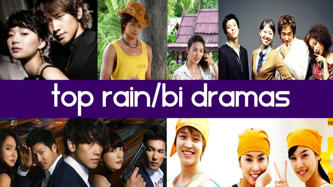 Top 5 King of Kpop Rain / Bi Korean Dramas - YouTube