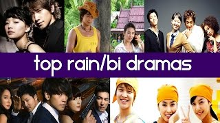 Top 5 King of Kpop Rain / Bi Korean Dramas