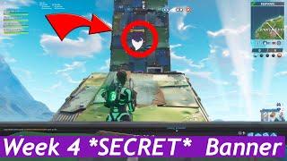 Fortnite season 6 week 4 secret banner