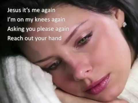 Jesus It's Me Again ~ Carol Baker ~ lyric video