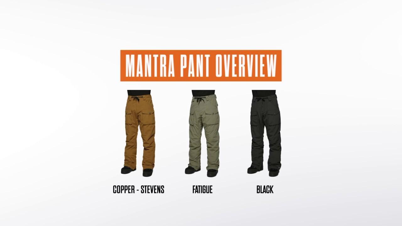 1b4ed00504f Thirty Two Mantra Fatigue Mens Snowboard Pants