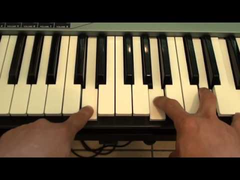 How to play Loving You Is Easy on piano - Union J - Tutorial