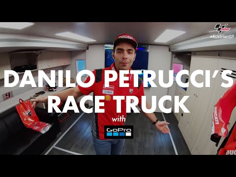 Danilo Petrucci shows you around his race truck with GoPro™