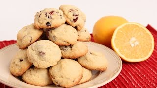 Cranberry Orange Cookies Recipe - Laura Vitale - Laura In The Kitchen Episode 859