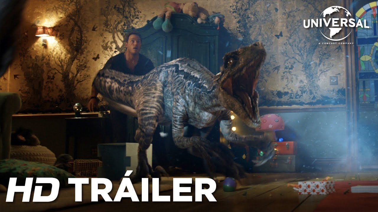 Jurassic World El Reino Caído Tráiler 2 Universal Hd Youtube