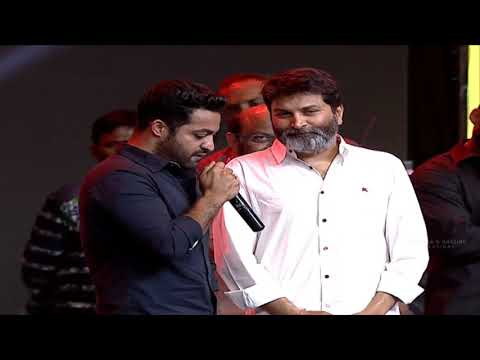 Aravind sametha audio launch