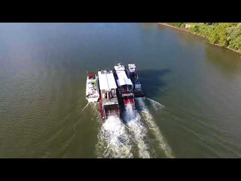 Boats Headed To 2017 Ohio River Sternwheel Festival
