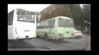 Маршрутки мешающие движению в Воронеже