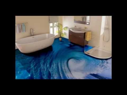 Decor epoxy flor 3d youtube for Epoxy boden 3d