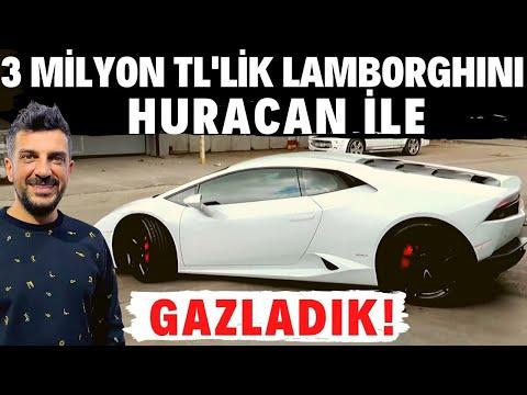 Doğan Kabak   3 milyon TL'lik 610 Beygir Gücündeki Lamborghini Huracan ile Gazladık!