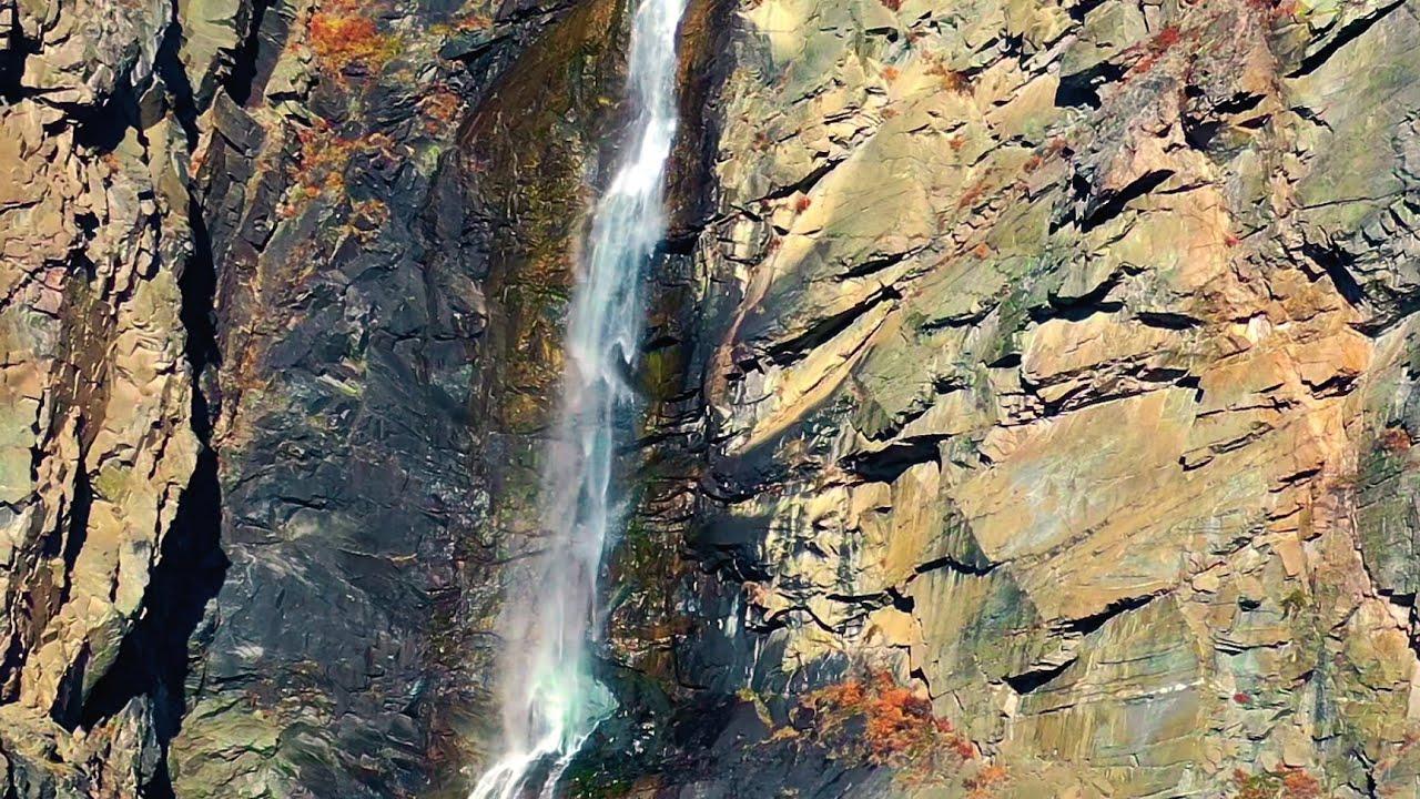 Горный Водопад Кату-Ярык Алтай в 4К - YouTube