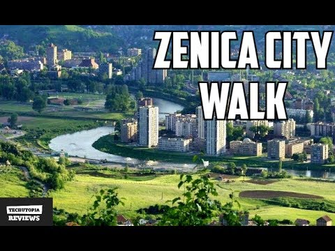 Zenica City Walk in Bosnia and Herzegovina(Places to see/visit/Balkan)Video by TechUtopia #2