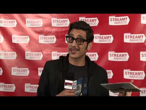 KassemG Backstage Interview - Streamy Awards 2013