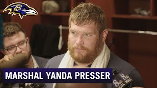 Marshal Yanda: I'm Not Talking Future Right Now | Baltimore Ravens