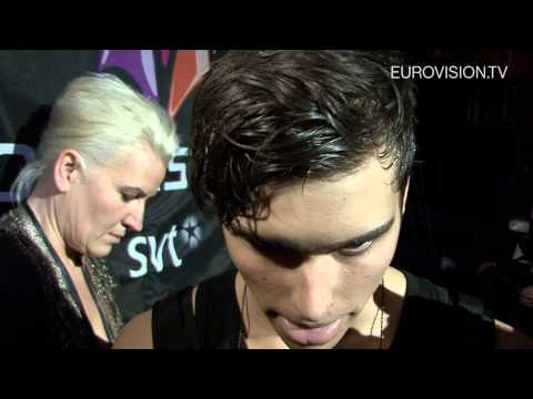 Eric Saade is the winner of Melodifestivalen 2011