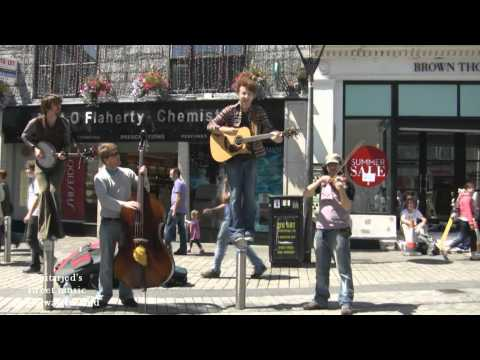 Buskers/Musicians - Galway, west coast of Ireland