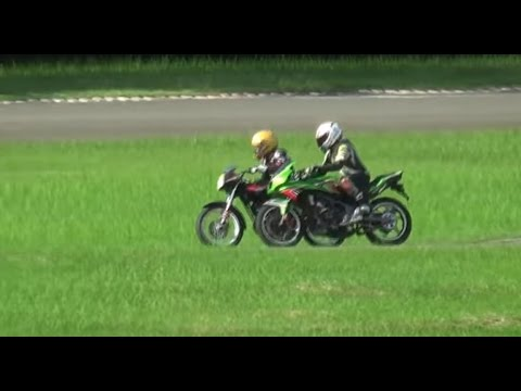 Yamaha Rxz top speed,  road race