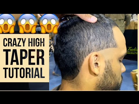 Craziest High Taper Tutorial! Maybe TOO High? thumbnail