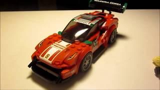 (English): Lego Review - Christina Nielsens Ferrari GT3!