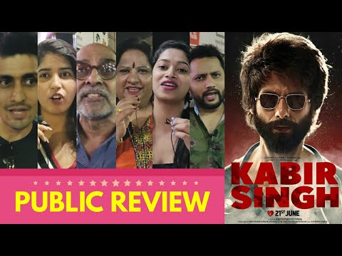 Kabir Singh Movie PUBLIC REVIEW | Shahid Kapoor, Kiara Advani | Sandeep Vanga | Arjun Reddy Remake