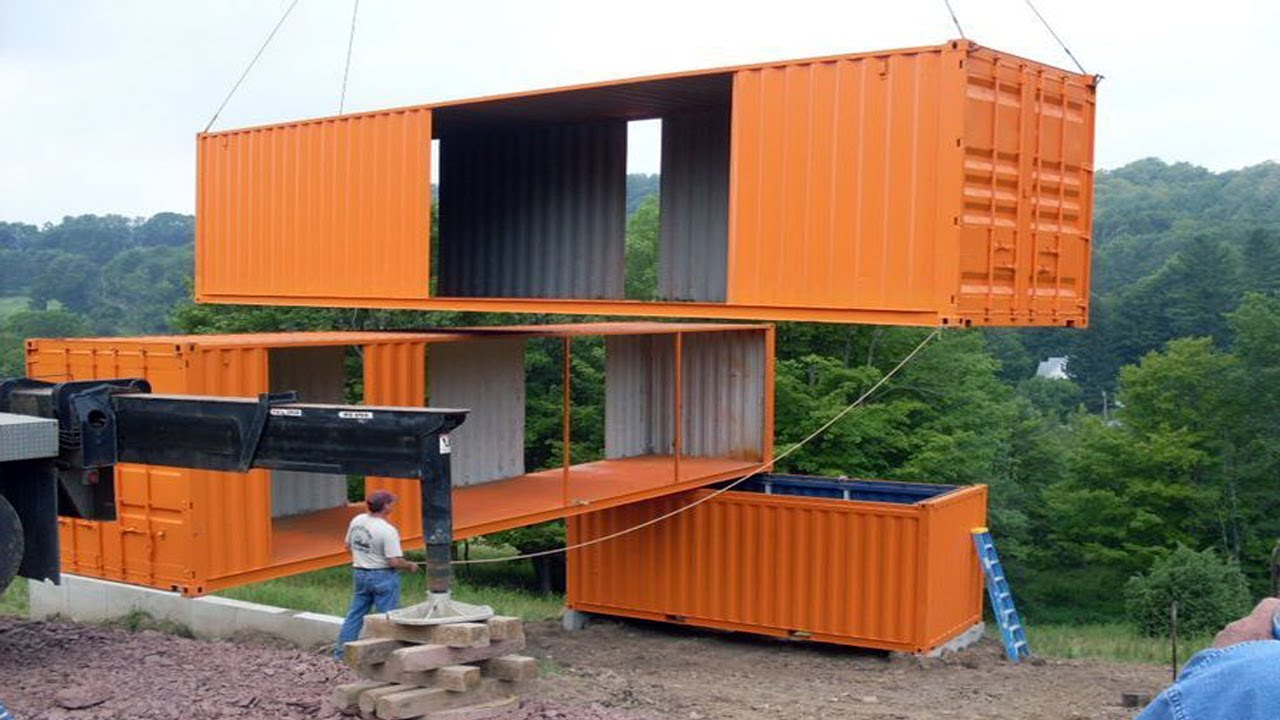 best ideas about shipping container homes on pinterest - youtube