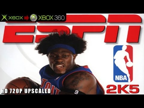ESPN NBA 2K5 - Gameplay Xbox HD 720P (Xbox to Xbox 360)