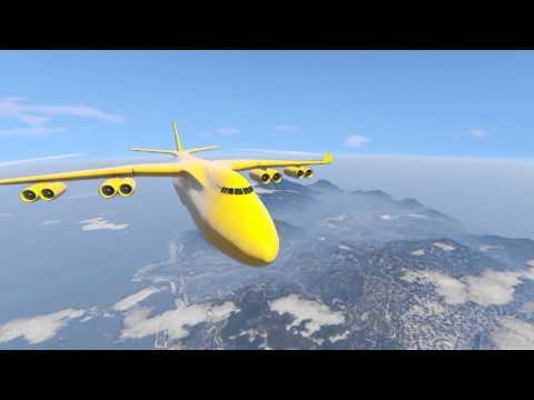 Le plus grand avion de GTA 5 , l'Avion Cargo (Cargo Plane)