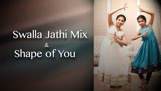 Gambar cover Swalla   Shape of You   Indian Raga   Classical   Dance Cover  
