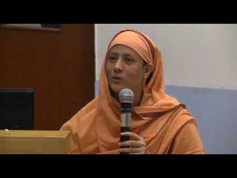 Pravrajika Divyanandaprana - SCIENCE OF HAPPINESS (According to Yoga-Vedanta), IIT Madras