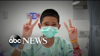 Thai boys recovering and steadily improving at hospital