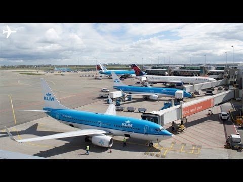 Amsterdam Schiphol Airport Ground Operations Timelapse