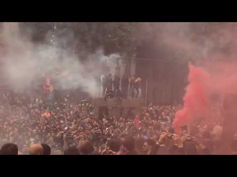 NetGazeti: Protest in Tbilisi after police raid at night clubs
