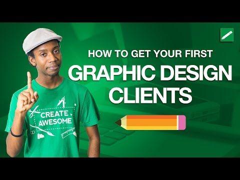 How to Get Your First Graphic Design Clients