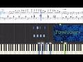 Spongebob Squarepants - Tomfoolery (Synthesia Piano Tutorial)