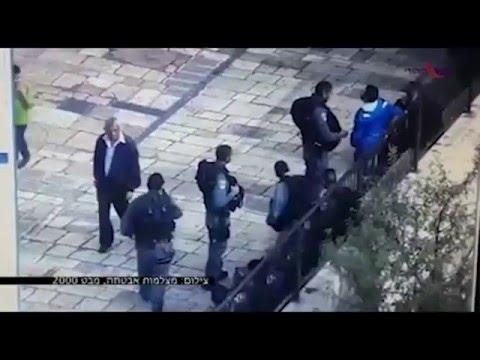 Reakcja Policji na atak napastnika.