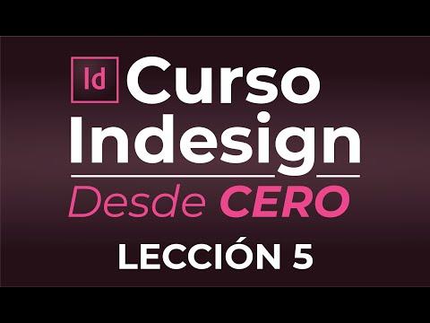 CURSO COMPLETO ADOBE INDESIGN CC DESDE CERO EN VIVO ESTILOS ANIDADOS Y PUBLCACION