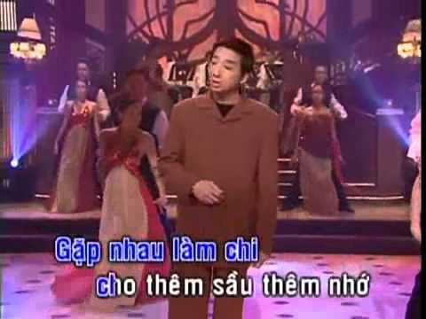 Gặp Nhau Làm Chi - Trường Vũ (Karaoke) Ngắt lời.wmv