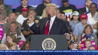 Trump Caps 100th Day In Office With Campaign-Style Rally