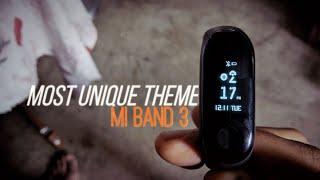 Most Unique Mi Band 3 Theme   VLT Theme