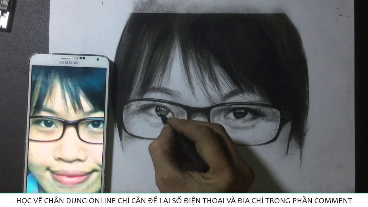 vẽ tranh – kỹ thuật vẽ tranh đặc biệt – Cách vẽ mắt trở nên long lanh