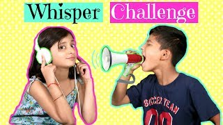 The WHISPER Challenge ..| #Fun #Kids #Sketch #MyMissAnand