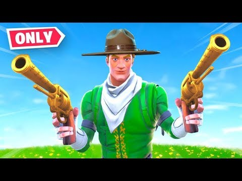 Fortnite BUT You Can *ONLY* Use Revolvers!