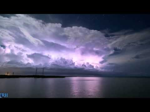 Time Lapse Of Tropical Storm in Darwin, NT, Australia