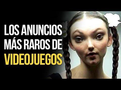 Los ANUNCIOS de VIDEOJUEGOS MÁS EXTRAÑOS   MERISTATION